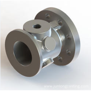 precision casting of pump walve