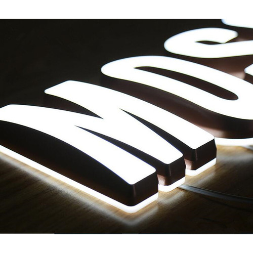 Custom Led Sign Lighting Light Up Signs