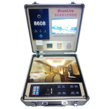 Smart hotel guest room system show box