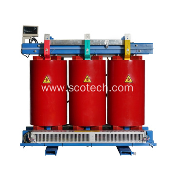 800KVA 6.6/0.55KV cast resin dry type transformer