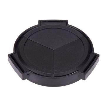 Auto Retractable Lens Cap Self Open and Close Lens Cover Protector for Panasonic LUMIX DMC-LX7GK LX7 Camera Accessories