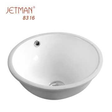 mini wash sink oval shaped bathroom wash basin ceramic under counter basin