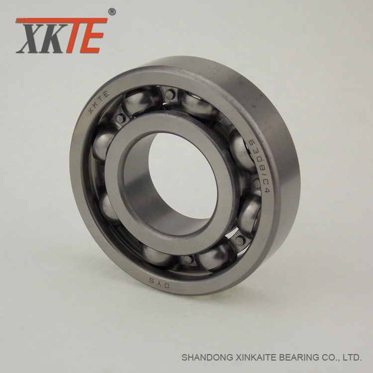 Open Ball Bearing 6308 C3 For Bulk Conveyor