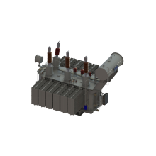 6300kVA 66kV 3-phase 2-winding Power Transformer with OLTC