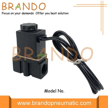1/4'' 2P025-08 NC Direct Acting Plastic Solenoid Valve