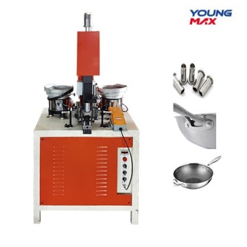 utensil cookware semi automatic riveting machine
