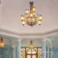 Fine art customized villa club led chandelier light