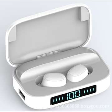 Digital display mobile power Bluetooth headset