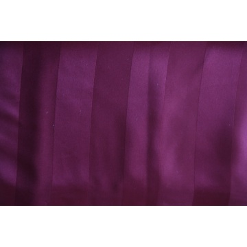 100% Polyester Bed Sheet 3cm embossed strip Fabric
