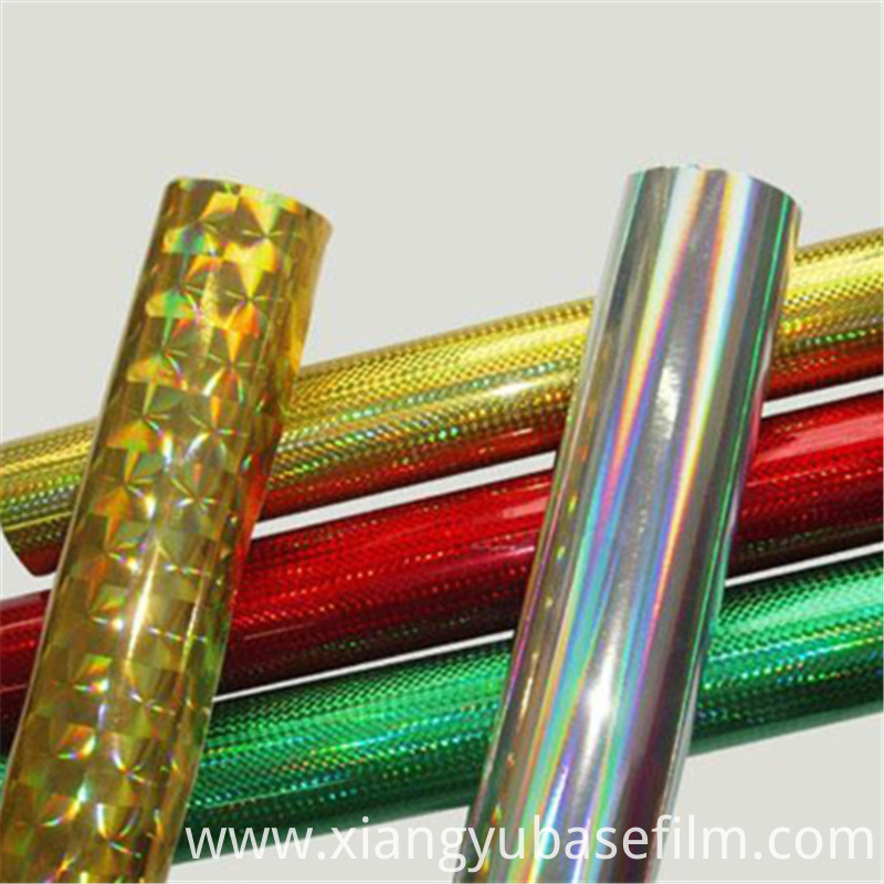 Pet Metallized Base Film 3