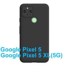 """Soft Silicone Case For Google Pixel 5 Bumper Ultra-thin Back Cover Google Pixel 5 XL 5G TPU Cover Gel Pudding Phone Shell 6.4"""""""