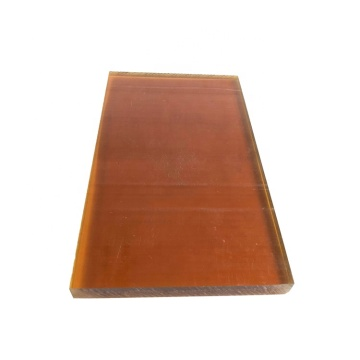 Virgin polyetherimide material amber color PEI sheet