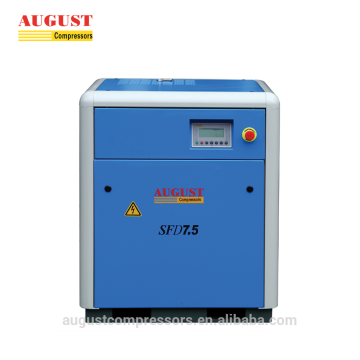 7.5KW 10HP stationary air cooled screw air compressor