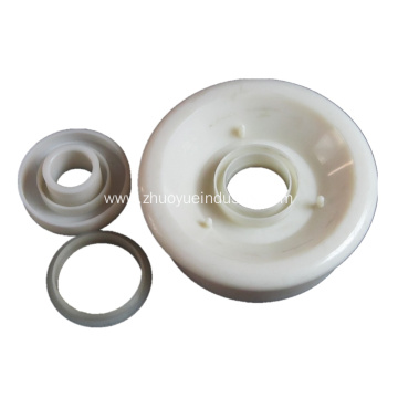 Kualitas tinggi Belt Conveyor Roller Plastik Bearing Housing