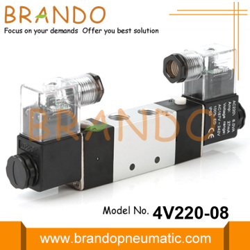 Airtac Type Pneumatic 5/2 Air Solenoid Valve 4V220-08