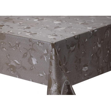 Solid Embossed Fabric Tablecloth cover
