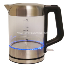 Electrical Cordless Glass Tea Kettle