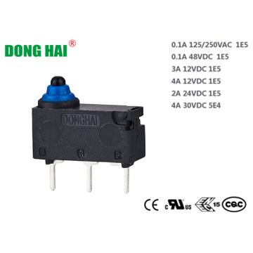 Long Life Dustproof Subminiature Micro Switch