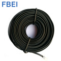 6P4C black telephone cords RJ11 telephone flat cable