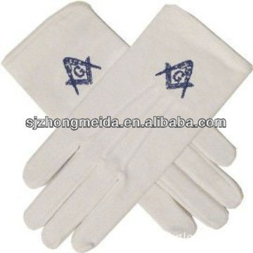 Cotton Uniform Maritial Glove / Masonice Glove / Embroider Glove