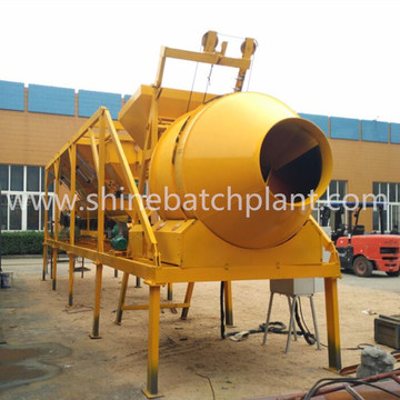 Small Volume Mobile Concrete Batch Plant