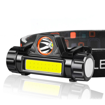 LED Headlamp Magnetic USB Rechargeable Headlight