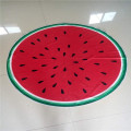 cat microfibre striped watermelon beach towel cotton on