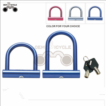 Hot Sale Lightweight Colored Bicycle mini U Lock