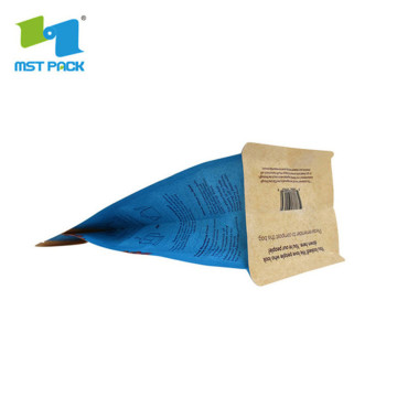 Most eco friendly good grade packing blocked bottom coffee bag packaging