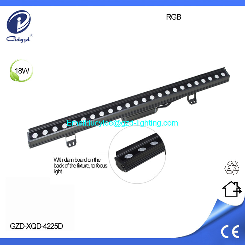 RGB led wall washer