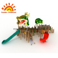 Dragon Style Outdoor Playground Equipment