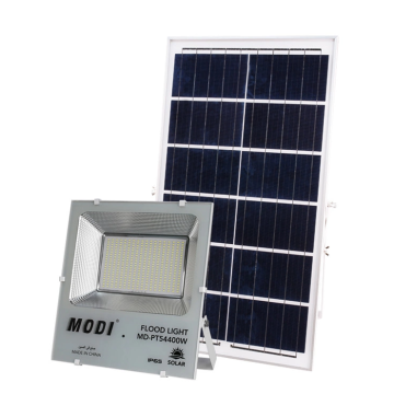 400W solar flood light used in various places
