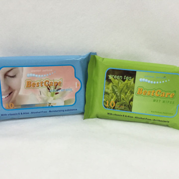 Soft Personal Care Scented Wipes