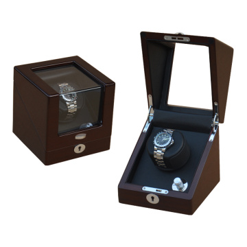 Mahogany Single Rotor Watch Winding