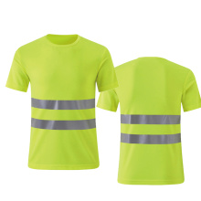 100% polyester Hi-vis safety shirts