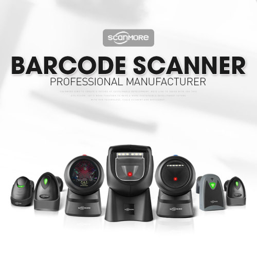 1500 Scans/sec fast desktop flatbed barcode reader scanner