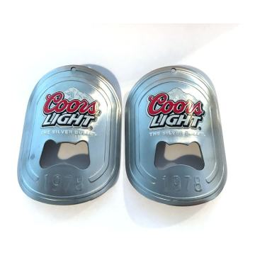 Stainless Steel Custom Wall Mounted Beer Bottle Openers