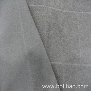 Jacquard Anti Pilling Fleece Fabric
