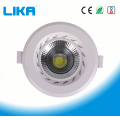 15W Recessed Ajustable Cob Ceiling Led Down Light
