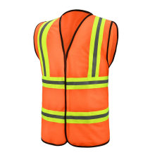Safety Vest with Fluorescent Yellow tapes