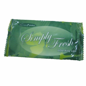 Custom Pouch Antibacterial Refreshing Wet Wipes