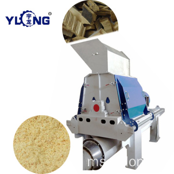 Almond chips hammer mill
