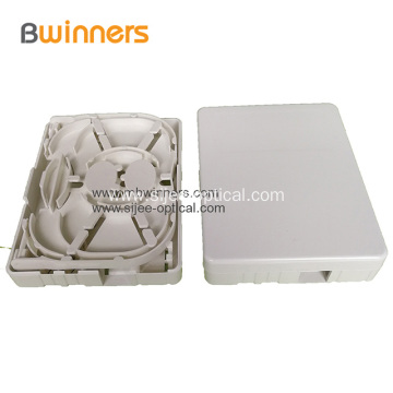 FTTH Optical Fiber Panel Optic Socket Face Plates 2 Port