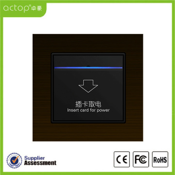 Smart Hotel Electronic Insert Card Power Switch