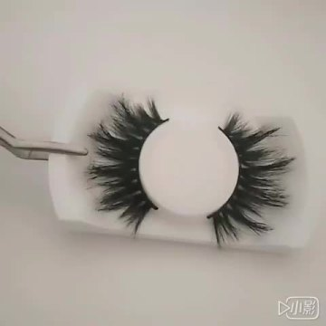 5 paia 100% Real Mink Eyelashes 3D