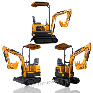 0.8 Ton mini digger micro excavator for farm work