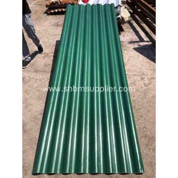 Fireproof Anti-aging Heatproof MgO Corrugated Roof Sheets