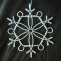 Impact Innovations Christmas Lighted Window Decoration Snowflak
