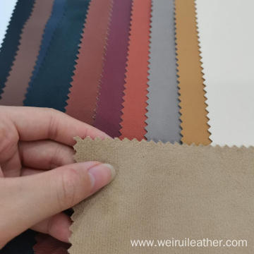Fine Grain sell well PU Leather