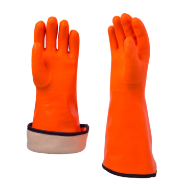 Winter Liner PVC Coated Gloves